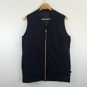 Lululemon Athletica Departure Black Vest
